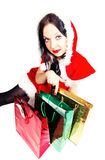 Here presents for Christmas isolated Royalty Free Stock Photo