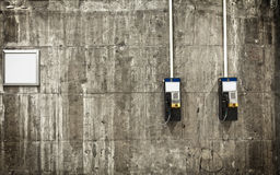 Public phones Royalty Free Stock Photography