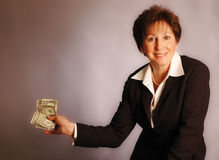 Here's the money 2164 Stock Image