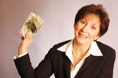 Here's the money 2171 Royalty Free Stock Photography