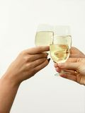 Here's to our success Royalty Free Stock Image