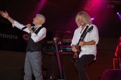 Heres to You :Dennis DeYoung in Blue Ash. Dennis DeYoung in Blue Ash for A Taste of Blue Ash concert Stock Image