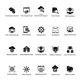 Set of Cloud Computing Icons vector illustration