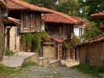 Here time stands still. Zheravna - an old Bulgarian village where time seems to have stopped Stock Image