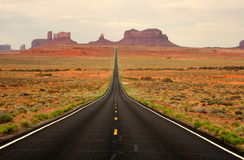 From here to eternity. The distant view of monument valley