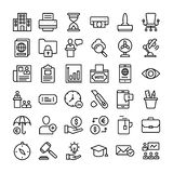Business And Finance Icons Collection stock illustration