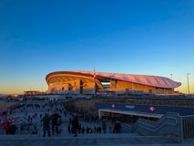 Wanda Metrpolitan Estadium royalty free stock photo