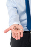 Here is your cabin key Stock Image