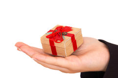 Here is your gift Royalty Free Stock Photo