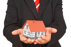 Here is your house Stock Photography