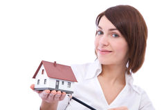 Here is your house Royalty Free Stock Image