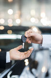 Here is your key! Royalty Free Stock Photography