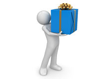 Here is your present Royalty Free Stock Photo