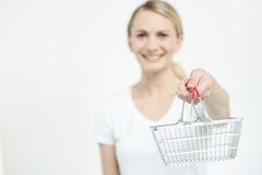 Here is your shopping cart ! Stock Image