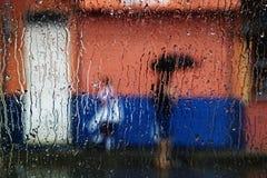 Heredia Regen Stockfotografie