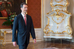 Hereditary Prince of Liechtenstein Alois Royalty Free Stock Images