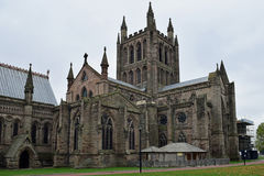 Hereford Cathedral, Hereford, Herefordshire, England Stock Image