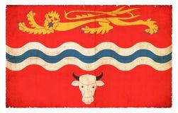 Herefordshire大英国难看的东西旗子  免版税库存图片