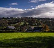 Herefordshire-Landschaft Stockfoto