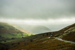 Herefordshire-Landschaft Heu auf Ypsilon Großbritannien Stockbild