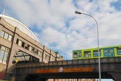 Hereinkommende Station der Serie Lizenzfreies Stockfoto