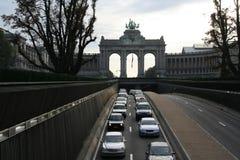 Hereinkommendes Brüssel Lizenzfreie Stockfotos