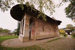 Herencia de la UNESCO - monasterios de Moldavia: Humor Imágenes de archivo libres de regalías