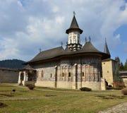 Herencia de la UNESCO - monasterios de Moldavia: Sucevita fotografía de archivo