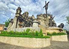 Herencia del monumento de Cebú Foto de archivo libre de regalías
