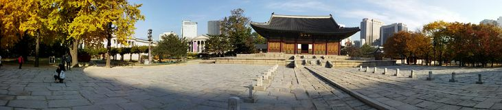 Herencia del sitio del viaje de Corea Imágenes de archivo libres de regalías