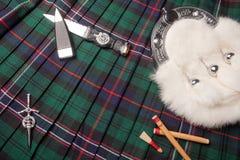 Herencia escocesa Fotos de archivo libres de regalías