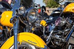 Herencia Softtail Harley Davidon Fotografía de archivo