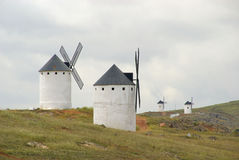 Herencia windmill Arkivbilder