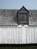 Herencia y arquitectura en Louisbourg, Nova Scotia fotos de archivo libres de regalías