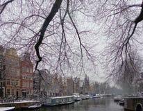 Herengracht Amsterdão fotografia de stock