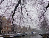 Herengracht Amsterdam fotografia stock