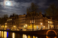 Herengracht in Amsterdam Stock Image