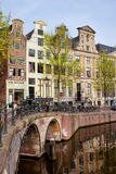 Herengracht Canal Houses in Amsterdam Royalty Free Stock Images