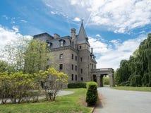Herenhuis chateau-sur-MER in Nieuwpoort, Rhode Island stock foto