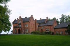 Herenhuis in Noorwegen royalty-vrije stock foto