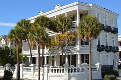 Herenhuis op de Batterij, Charleston Royalty-vrije Stock Afbeeldingen