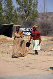 Herero Woman Stock Image