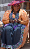 Herero Woman Royalty Free Stock Image