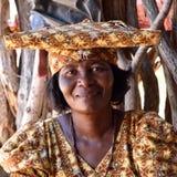Herero Woman, Namibia Royalty Free Stock Images