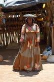 Herero Woman, Namibia Royalty Free Stock Photo