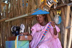 Herero Woman, Namibia Stock Photos