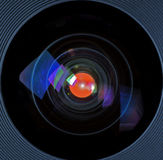 Heres Looking At you. Camera Lens stock illustration