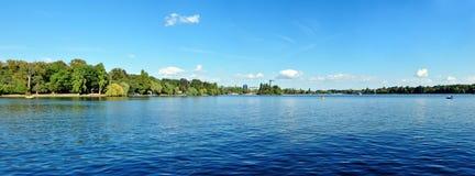 Herestrau sjö Arkivbild