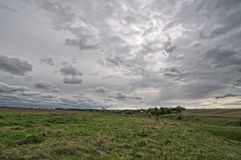 Herfst gebied Stock Fotografie