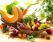 Herfst groenten en vruchten Royalty-vrije Stock Fotografie